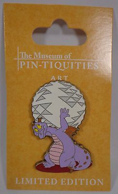 Disney Pin The Museum of Pin-tiquities Celebration 2009 Atlas Figment Le750