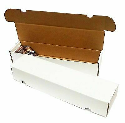 25 Max Pro Corrugated Cardboard 930 Count Baseball Gaming Card Storage Boxes