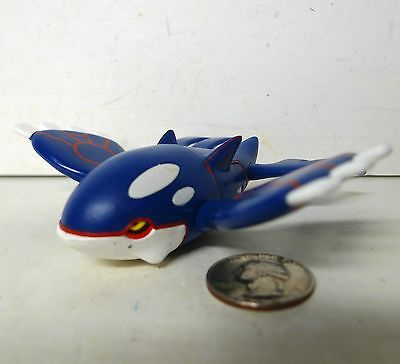 Kyogre Action Figure Pokemon EX Legendary Tomy !!!