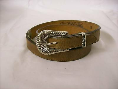 NEW Circle Y Leather Belt-Brown- Waist Size 28