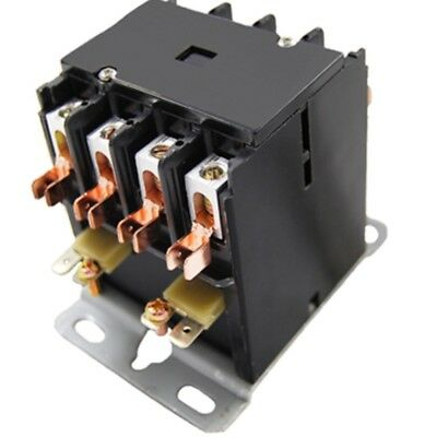 Cutler-Hammer Replacement Contactor 4 Pole 40 A 120V age C25ENF440A By Packard