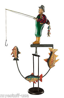 Fly Fisherman Balance Toy Balance Toy - Authentic Models TM041