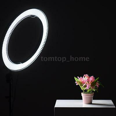 600 LED Ring Light DSLR Camera Photography Video Dimmable Daylight Lighting O3D7