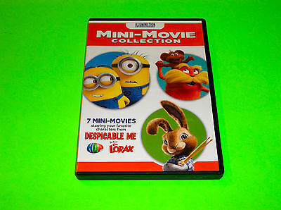 Minions Despicable Me The Lorax Characters 7 Mini Movie Collection Dvd
