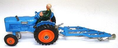 Corgi Gift Set No. 13 Fordson Power Major Tractor And Plough - Exc.