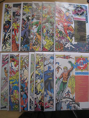 WHO'S WHO :COMPLETE 26 ISSUE 1985 SERIES.DEFINITIVE DIRECTORY of the DC UNIVERSE