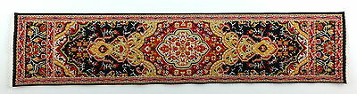 Dolls House Small Turkish Woven Carpet Runner Miniature Rug 1:12 Accessory 13