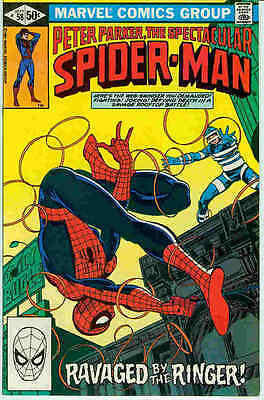 Peter Parker Spectacular Spiderman # 58 (John Byrne) (USA, 1981)