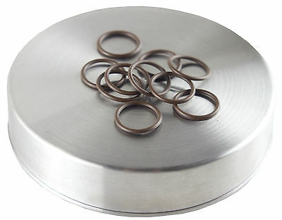 -016 o-ring 10 pack | hardness 70 | Brown color coded oring by Flasc Paintball
