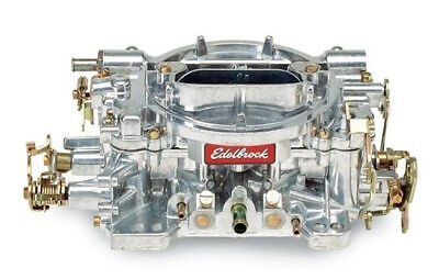 Edelbrock 1404 500 CFM Satin Finish Manual Choke Performer Carb Carburettor