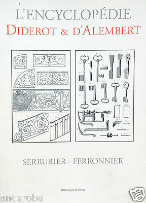DIDEROT/d'Alembert HOW to MAKE 1700s LOCKS & KEYS Locksmithing With MANY PLATES