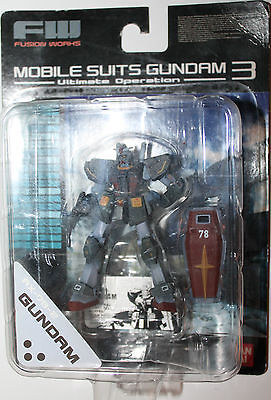 Gundam Mobile Suits 3 RX-78-2 Bandai Ultimate Operation 2003 Fusion Works Japan
