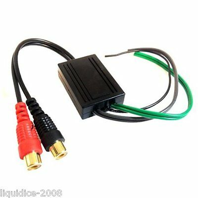 Ctloc10 2 Channel Rca Line Input Output High To Low Level Speaker Adaptor Lead