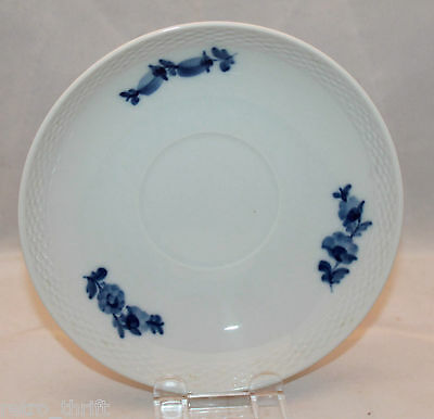 Royal Copenhgen Blue Flower Braided Large Saucer ONLY White Replacement for Cup