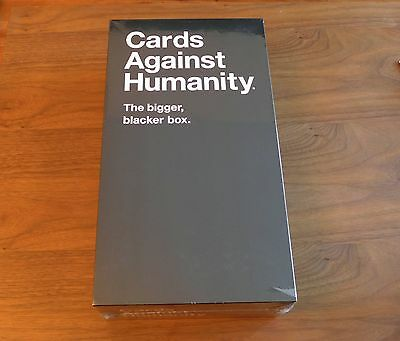 Cards Against Humanity - The New Bigger Blacker Box - Brand New Sealed Storage