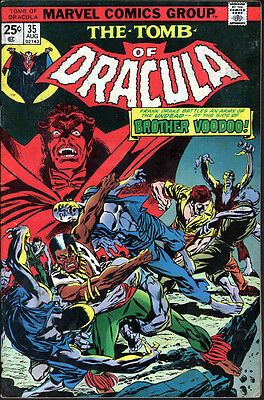 The Tomb of Dracula #35 (Marvel 1972) - No stock images