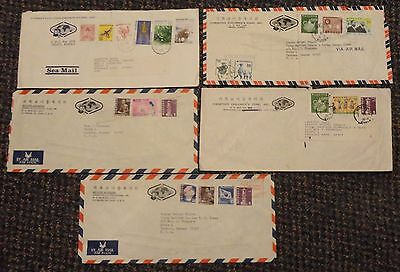 1960s-70s Korea cover lot to US - lot No. 2