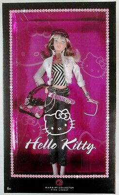 Hello Kitty Barbie Doll (Pop Culture Collection) (Pink Label) (NEW)