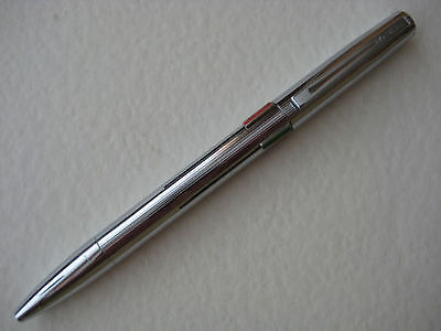 Waterman  Quattro 4 Color  Ballpoint Pen Silver Made In France New