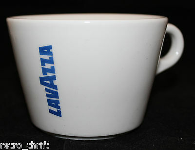 Lavazza Coffee White Blue Americano Mug Cup Only 8oz Logo IPA Italy Replacement
