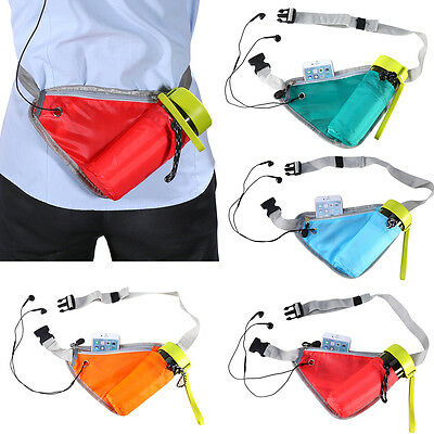 Waist Water Bottle Holder Bum Bag Pouch Belt For Running Cycling Travel Jogging