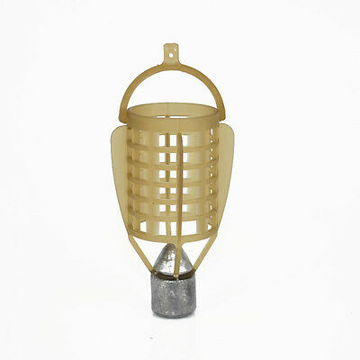 Bait Cage Fishing Trap Basket Feeder Holder 40g 50g Fishing Lure Cage