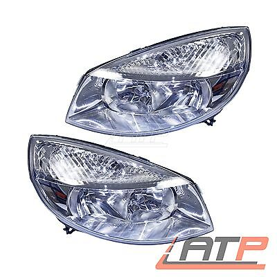 2X Headlamp Headlight H7/h1 Front Left+Right Renault Grand Scenic Mk 2 04-06