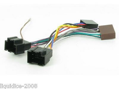 Ct20Cv01 Chevrolet Aveo 2008 > Iso Lead Wiring Stereo Head Unit Harness Adaptor