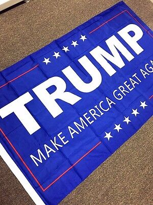 Donald Trump for President 2016 USA American 3x5 Flag Make America Great Again