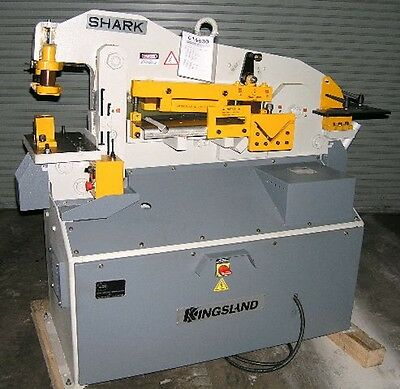 Kingsland ( Haco Atlantic ) Shark 50 Hydraulic Ironworker