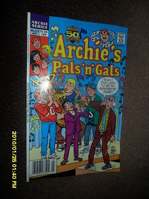 "1991 Archie Comics Archie's Pals ""n"" Gals #223 High School Band"