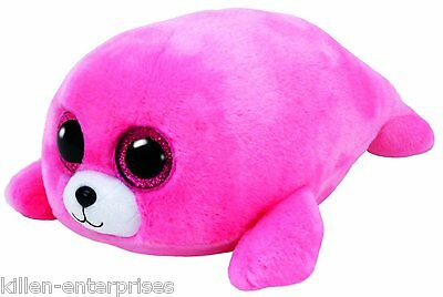 TY Beanie Boos Pierre The Pink Seal Plush NEW!