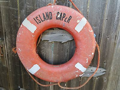 24 inch UGLY LIFE PRESERVER RING SAVER FLOAT BUOY BOUY (#77)