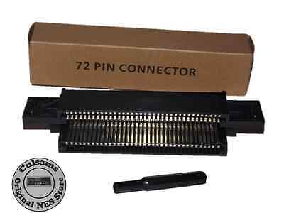 72 Pin Connector Cartridge Replacement Part for Nintendo NES System & 3.8 mm Bit