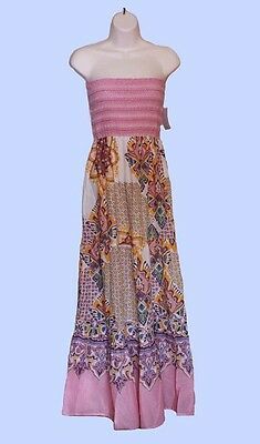 Wholesale~ Magazine Maxi dresses~Floral Print~Sm,M, L~Vibrant Summer Colors