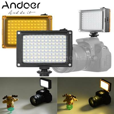 LED Video Light Fill-in Lamp Dimmable for Canon Nikon DSLR Camera Camcorder P2K3