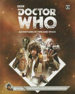 Doctor Who Fourth Doctor Sourcebook by Cubicle 7. (English) Paperback Book Free