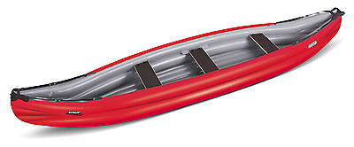 Gumotex - Scout Inflatable Canoe / Kayak 3 Persons - Economy Version [Red]