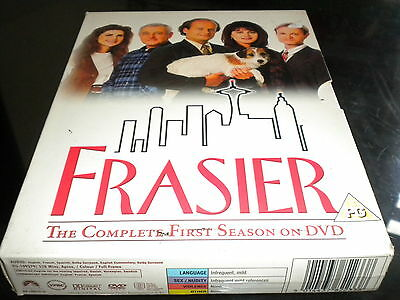 Frasier - The Complete First Season - DVD - 4 Disc Box Set - 2003 - Region 2 PAL