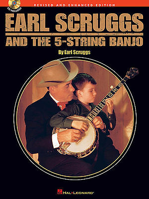 Earl Scruggs & The 5 String Banjo Tab Song Book + Cd