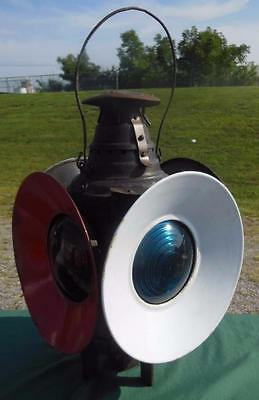 Dressel Rr Train Arlington Nj Usa Railroad Swithing Signal Kerosene Oil Lantern