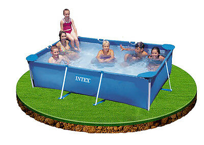 Intex Small Family Frame Swimming Pool 2.6m x 1.6m x 0.65m #28271