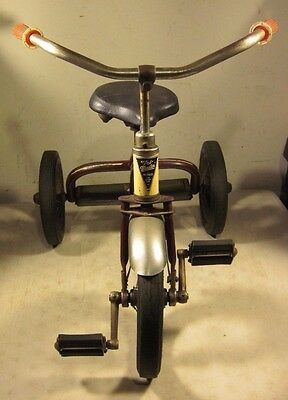 Rare Vintage Antique Tri-Master Tri-Mfg Co East Rutherford NJ Tricycle Bike USA