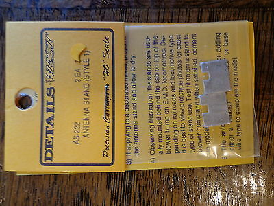 Style 1 - HO Scale Details West AS-222 Antenna Stand