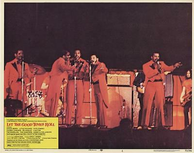 """""""let The Good Times Roll""""-Original Lobby Card-Rock N Roll-Five Satins"""