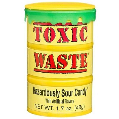 * Yellow TOXIC WASTE Pick n Mix RETRO SWEETS & CANDY