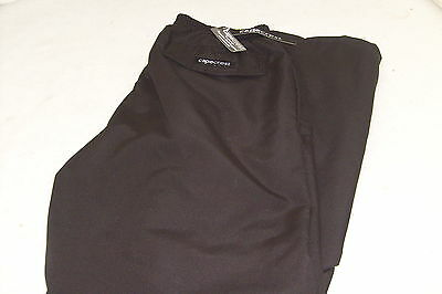 Capecrest Men's Golf Waterproof Trousers Black  - Stay Dry Play Well!