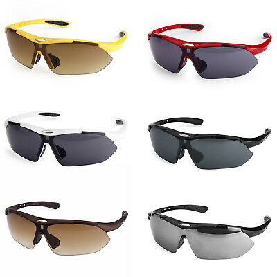 Professional Polarized Sports Sunglasses Cycling Bicycle Riding Glasses Goggles