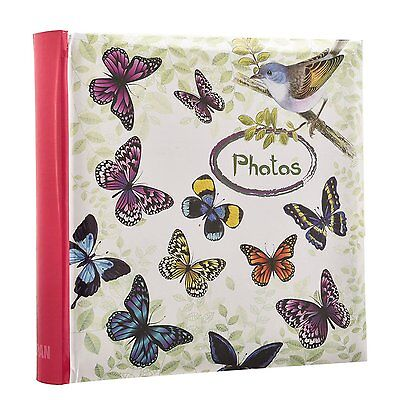 Butterfly Bird Photo Album Slip In Case Album For 200 of 4x6'' Pictures AL-9771