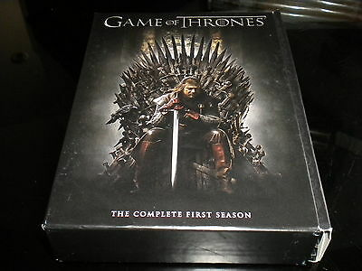 Game Of Thrones - The Complete First Season - DVD - 2012 - 5 Disc Box Set - R2